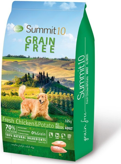 Summit10 Grain Free Chicken & Potato 70% Mięsa  12kg