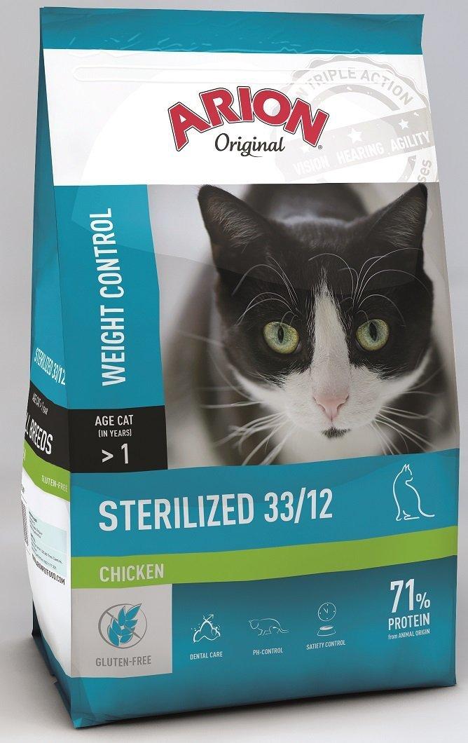 Arion Original Cat Sterilized 33/12 Chicken 2kg
