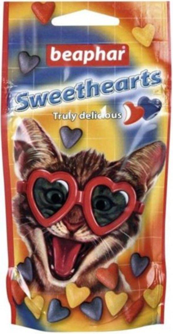 Beaphar Kitties Sweethearts - przysmak dla kota w kształcie serc 52,5g