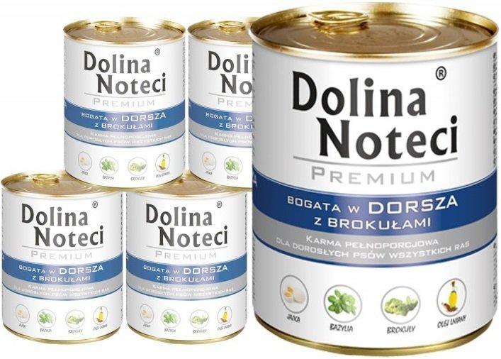 Dolina Noteci Premium Bogata w dorsza z brokułami 6x800g