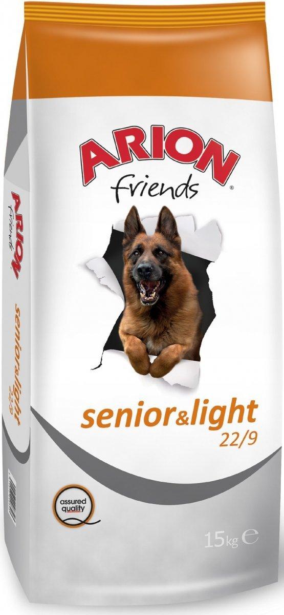 Arion Senior-Light 22/9 - Kurczak i ryż 15kg