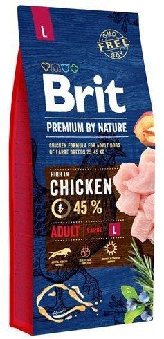 Brit Premium By Nature Large Adult L 2x8kg (16kg)