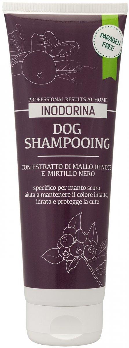 Inodorina Naturalny szampon dla psów o ciemnej sierści 250ml