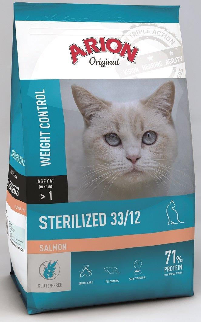 Arion Original Cat Sterilized 33/12 Salmon 2kg
