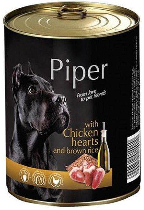 Piper z sercami kurczaka z ryżem 12x800g