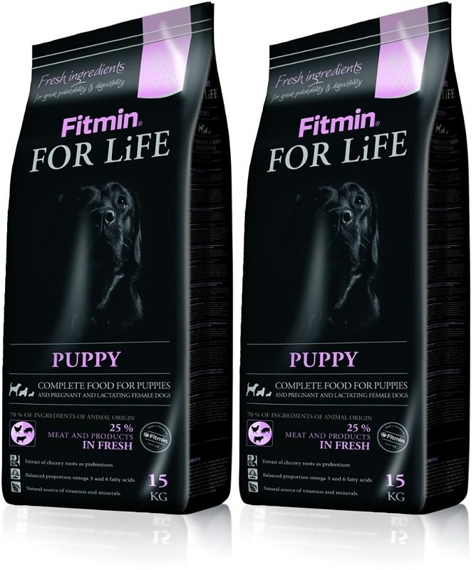 Fitmin Dog For Life Puppy 2x15kg (30kg)