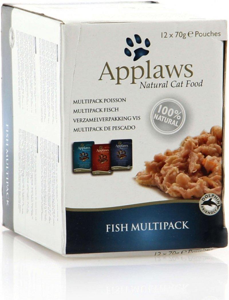 Applaws Fish Multipack - Mix rybny saszetek w rosole 12x70g