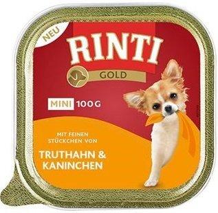 Rinti Gold Mini Indyk i Królik 16x100g