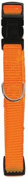 Zolux Obroża nylonowa regulowana 10mm - pomarańczowa