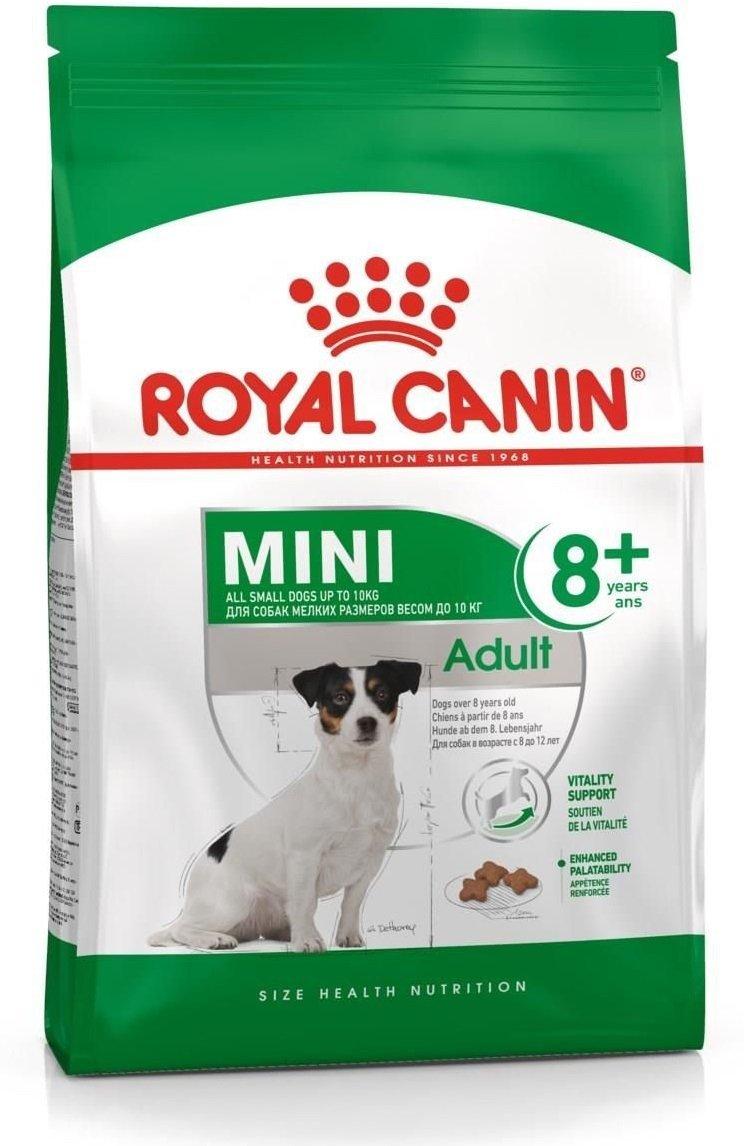 Royal Canin Mini Adult 8+ (powyżej 8 roku życia) 8kg