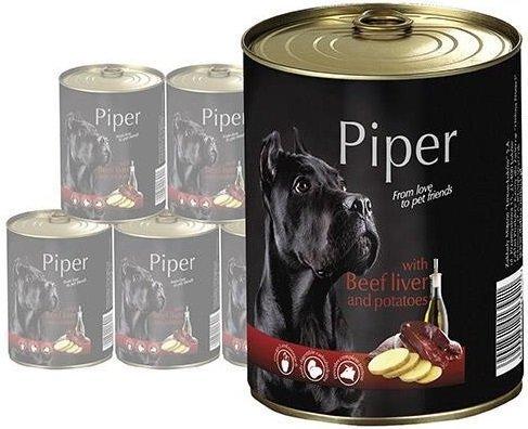 Piper z wątróbką wołową z ziemniakami 24x400g