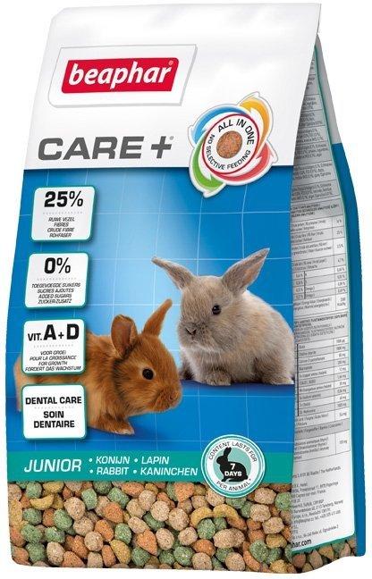 Beaphar Care+ Rabbit Junior - karma super premium dla królika do 10 m-ca życia 250g