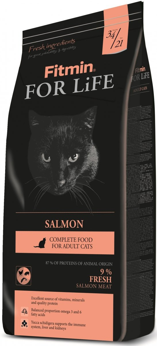 Fitmin Cat For Life Salmon 2x8kg