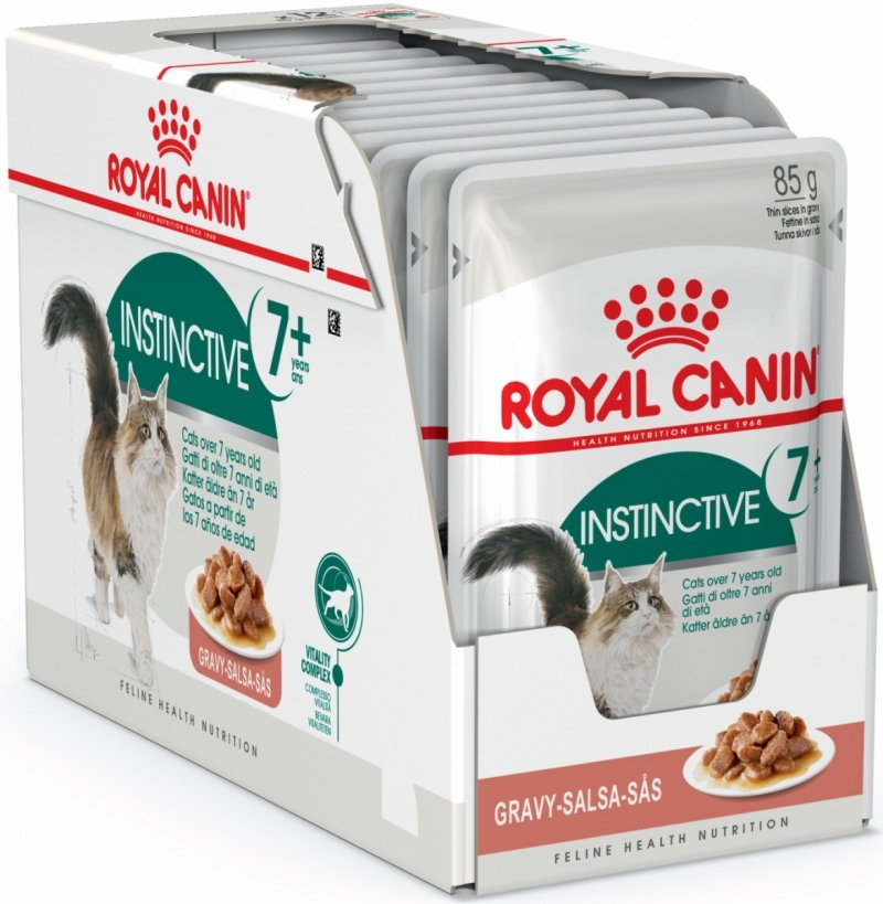 Royal Canin Instinctive 7+ w sosie 12x85g