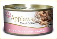 Applaws dla kota puszka 24x156g Tuńczyk i Krewetki
