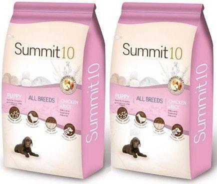 Summit10 Super Premium Puppy dla szczeniąt od 2 do 12 miesięcy 2x15kg (30kg)