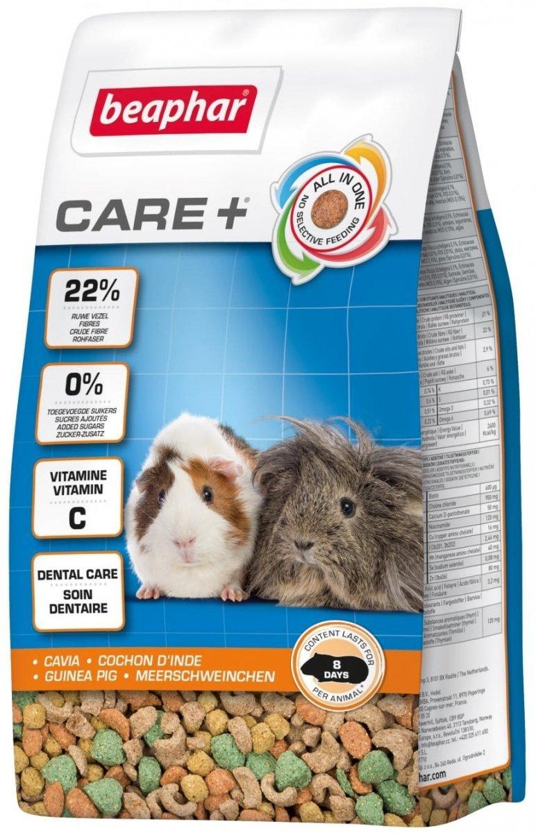 Beaphar Care+ Guinea Pig - karma super premium dla świnek morskich 250g