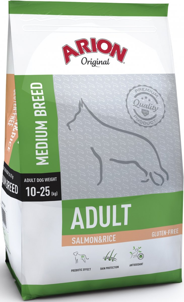Arion Original Adult Medium - Łosoś z ryżem 3kg