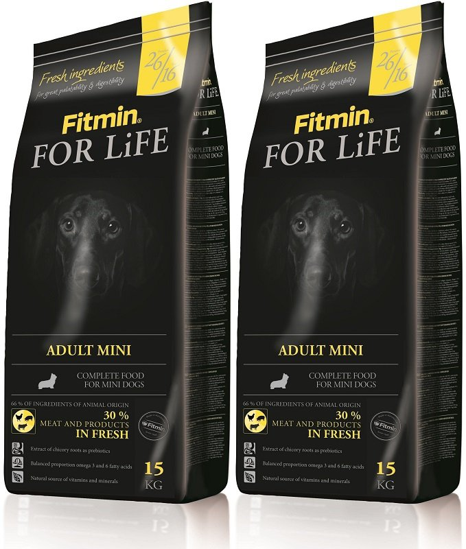 Fitmin Dog For Life Mini 2x15kg (30kg)