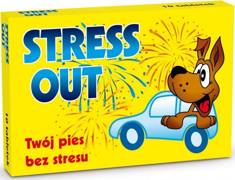 Stress Out - preparat uspokajający dla psów i kotów 10 tabl.