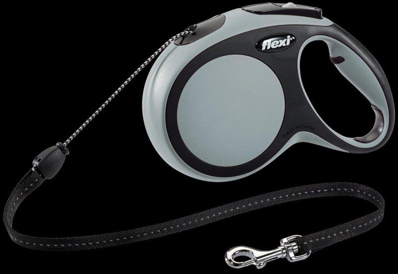 Flexi New Comfort M linka 8m - szara