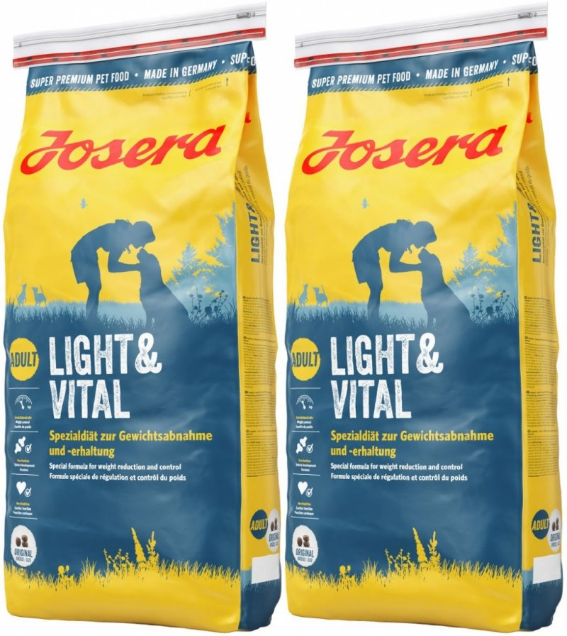 Josera Light & Vital  2x15kg (30kg)
