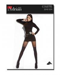 Rajstopy Adrian Colette 20/40 den 6-XXL
