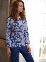 Piżama Cana 076 dł/r S-XL