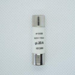Wkładka bezpiecznikowa 10x38 20A 500V AC gL