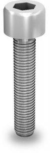 K2 Śruba imbusowa, M8x35 (stal nierdzewna 'A2') z ząbkowaniem (nie wymaga podkładki)