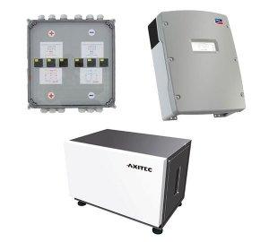 AXITEC Energy LI 10S x 3 24.0 + SMA Sunny Island 4.4M x 3