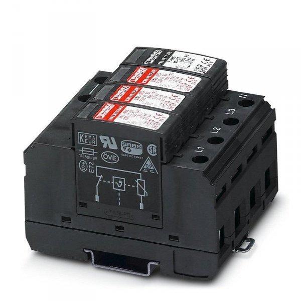 Ogranicznik przepięć AC T2 VAL-MS 230/3+1 AC