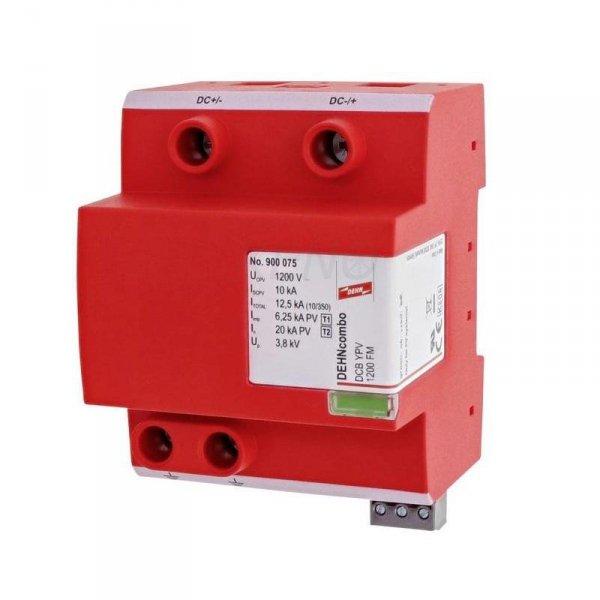 Ogranicznik przepięć DC DEHNcombo YPV do systemów PV do 1200V 4P typ I+II FM