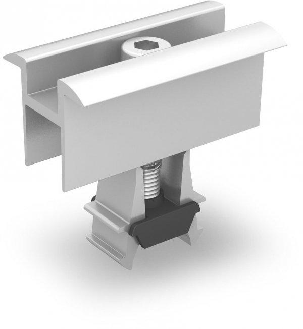 K2 OneMid uniwersalna klema środkowa, zestaw, srebrna (32-42mm)