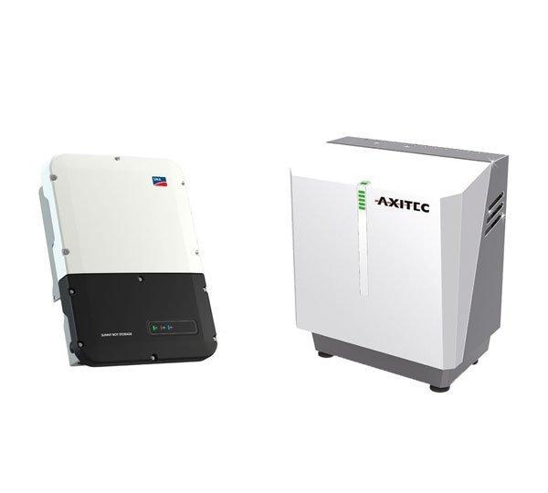 AXITEC Energy LI 9 SH 7.5 + SMA Sunny Boy Storage 3.7
