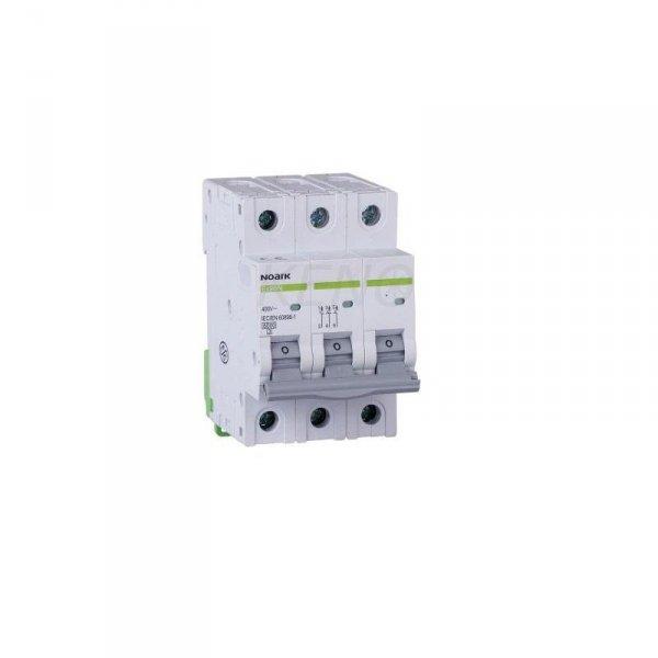 Wyłącznik nadprądowy 6 kA, ch-ka B, 63 A, 3-bieg.