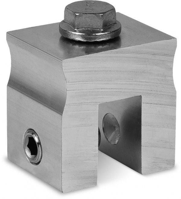 K2 Element montażowy do dachów na rąbek, maksymalna szerokość rąbka 14 mm, moment obrotowy 18 Nm. Podkładka M10 potrzebna jest dodatkowo