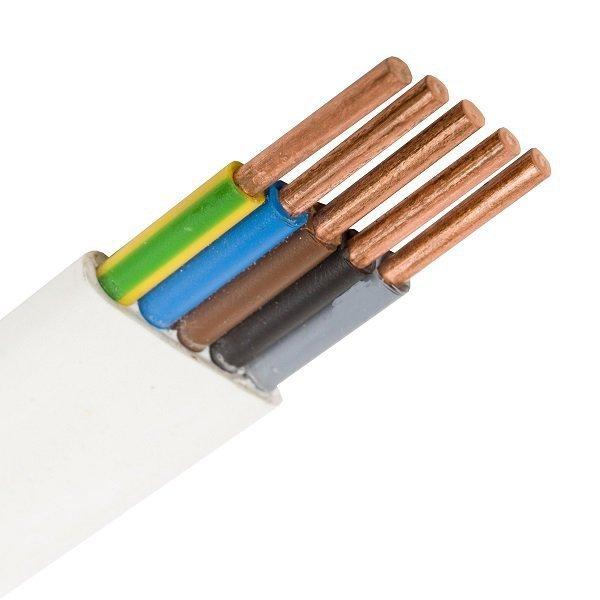 Przewód instalacyjny YDY 5x2.5mm2 - rolka 100mb