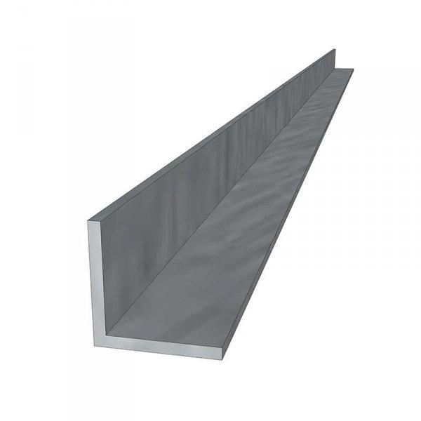 Kątownik aluminiowy z otworami 40x40mm 1180mm (K-26-1180-D)