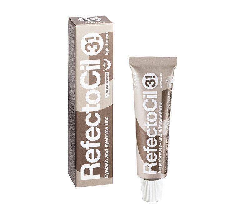 Henna żelowa do rzęs i brwi Refectocil 3.1 Light brown