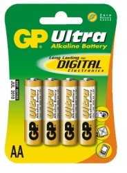 GP Bateria alkaliczna LR06 Ultra Alkaline BL/4
