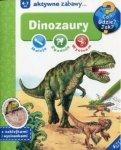Maluję, zgaduję, wycinam - Dinozaury. 4-7 lat
