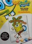 Sponge Bob obrazek z farbkami