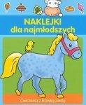 Naklejki dla najmłodszych 4 lata. wiczenia z krówką Zeldą