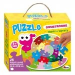 Ślimak. Puzzle dwustronne 26 elementów