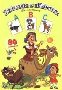 Zwierzęta z alfabetem. A,B,C