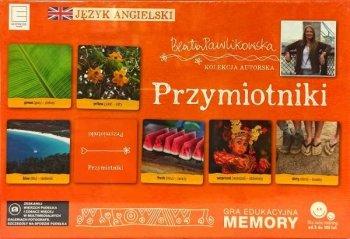 Przymiotniki. Gra edukacyjna Memory językowe