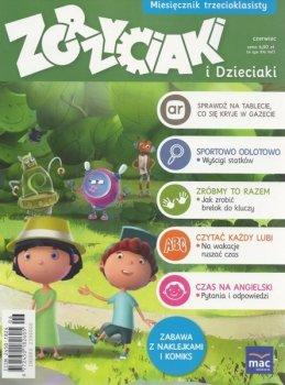 Zgrzyciaki i dzieciaki. Miesięcznik trzecioklasisty - czerwiec. 06/2016