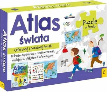 Atlas Świata. Odkrywaj i poznawaj