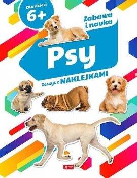 Psy. Zeszyt z naklejkami 6+